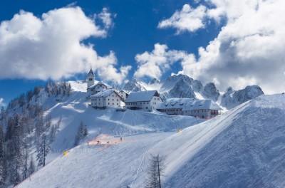 Monte Lussari d'inverno