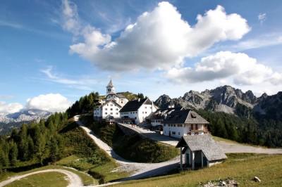 Monte Lussari d'estate
